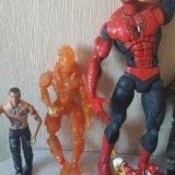 Человек-паук, роботы,человек-факел. Фото 2.