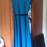 Голубое платье. Фото 1.