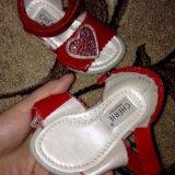 Детская обувь р19 (босоножки) cherie(черри). Фото 1.