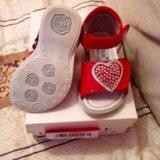 Детская обувь р19 (босоножки) cherie(черри). Фото 4.