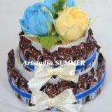 Торт из конфет. Фото 1.