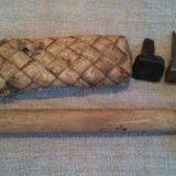 Набор косаря- бабка, боек и лопатник. Фото 1.