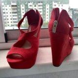 Туфли красные. Фото 2.