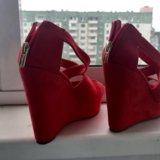 Туфли красные. Фото 3.