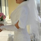 Шубка для свадебного платья. Фото 1.