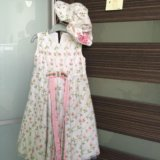 Платье для девочки ручная работа италия. Фото 1.