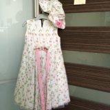 Платье для девочки ручная работа италия. Фото 2.