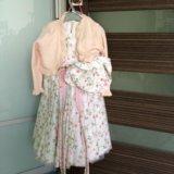Платье для девочки ручная работа италия. Фото 4.