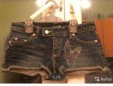 Джинсовые шорты melrose размер 42. Фото 1.