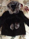 Полушубок из ондатры. Фото 1.