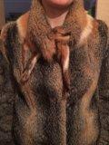 Шуба из северной лисы. Фото 1.
