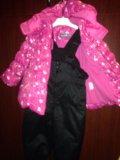 Комбинезон для девочки. одежда. Фото 2.
