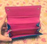 Кожаный кошелек victoria's secret. Фото 3.