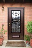 Срочно стальная дверь со стеклопакетом. Фото 1.