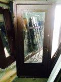 Срочно стальная дверь со стеклопакетом. Фото 4.