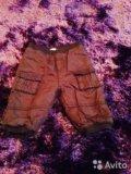 Утепленные штанишки 3-6 мес. Фото 1.
