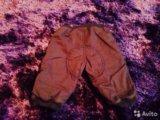 Утепленные штанишки 3-6 мес. Фото 2.