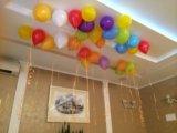 Воздушные шары на гелии. Фото 1.