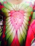 Платье жар-птица. Фото 1.