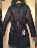 Дутое пальто новое демисезонное 44, 46. Фото 1.