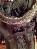 Дутое пальто новое демисезонное 44, 46. Фото 3.