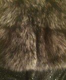 Жилет с мехом чернобурки. Фото 4.