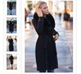 Пальто женскон. Фото 3.