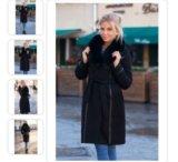 Пальто женскон. Фото 4.