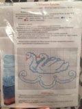 Набор для вышивания скатерть и салфетки. Фото 2.