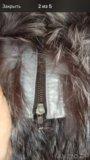 Новый меховой  жилет из чернобурки. Фото 2.