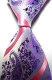 Красивый жаккардовый галстук. Фото 1.