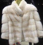 Курточка из меха норки. Фото 1.