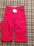 Новые брюки вельветовые petit bateau, 146-150, дев. Фото 2.