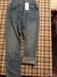 Новые летние джинсы гарем, на 146/152, для девочки. Фото 1.