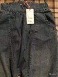 Новые летние джинсы гарем, на 146/152, для девочки. Фото 2.