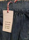 Новые летние джинсы гарем, на 146/152, для девочки. Фото 3.