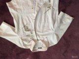 Блузка белая р.48-50, хлопок, новая. Фото 3.