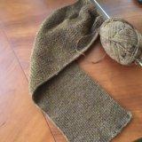 Вязаный шарф. Фото 1.