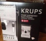 Кофемашина krups pump espresso electro xp5200. Фото 1.
