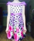 Платье на девочку 10-11 лет. Фото 1.