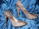 Туфли новые,36-37 размер. Фото 1.