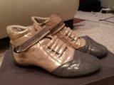 Кожаные ботиночки 38 размера. Фото 2.