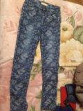 Джинсы брюки , размер 46. Фото 1.