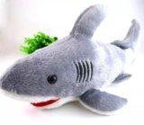"Плюшевая игрушка ""акула"". Фото 1."