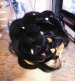 Прически ,косы ,шеллак. Фото 3.