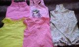 Одежда для девочки на 4-6 лет. Фото 1.