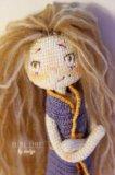 Джесси, вязаная кукла. Фото 2.