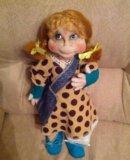 Текстильная кукла ручной работы. Фото 2.