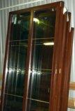 Деревянные окна со стеклопакетом. Фото 1.
