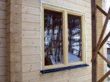 Деревянные окна со стеклопакетом. Фото 3.